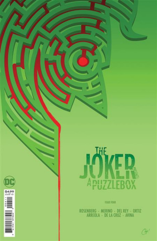 The Joker Presents: A Puzzlebox #4 (Chip Zdarsky Cover)