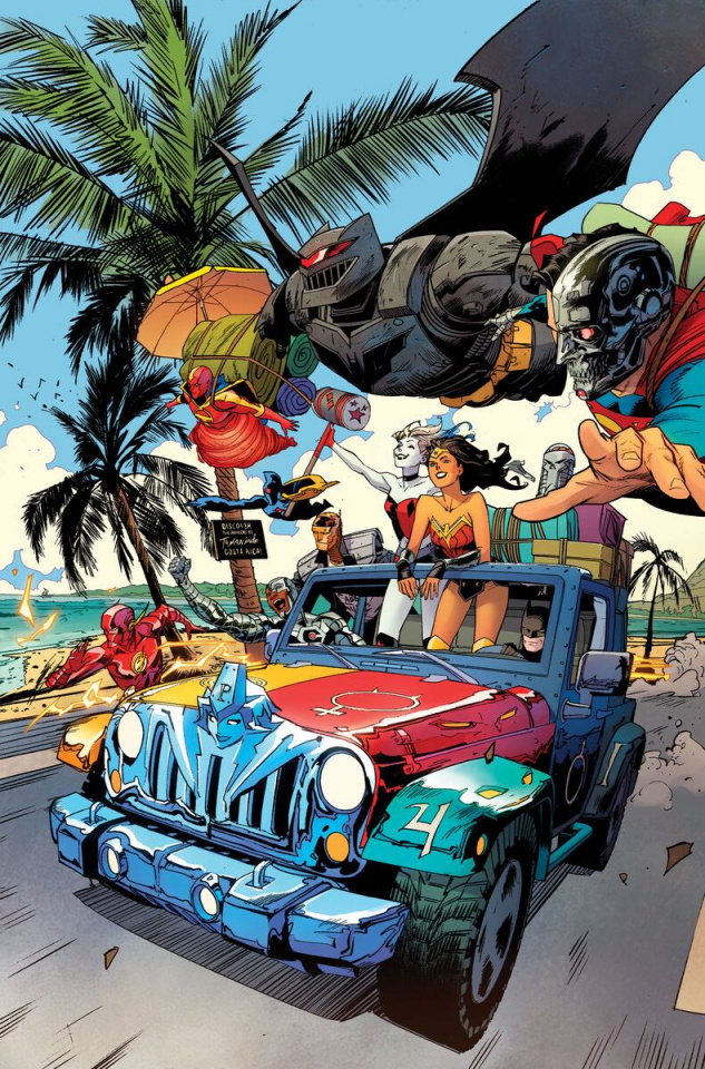DC's Cybernetic Summer #1