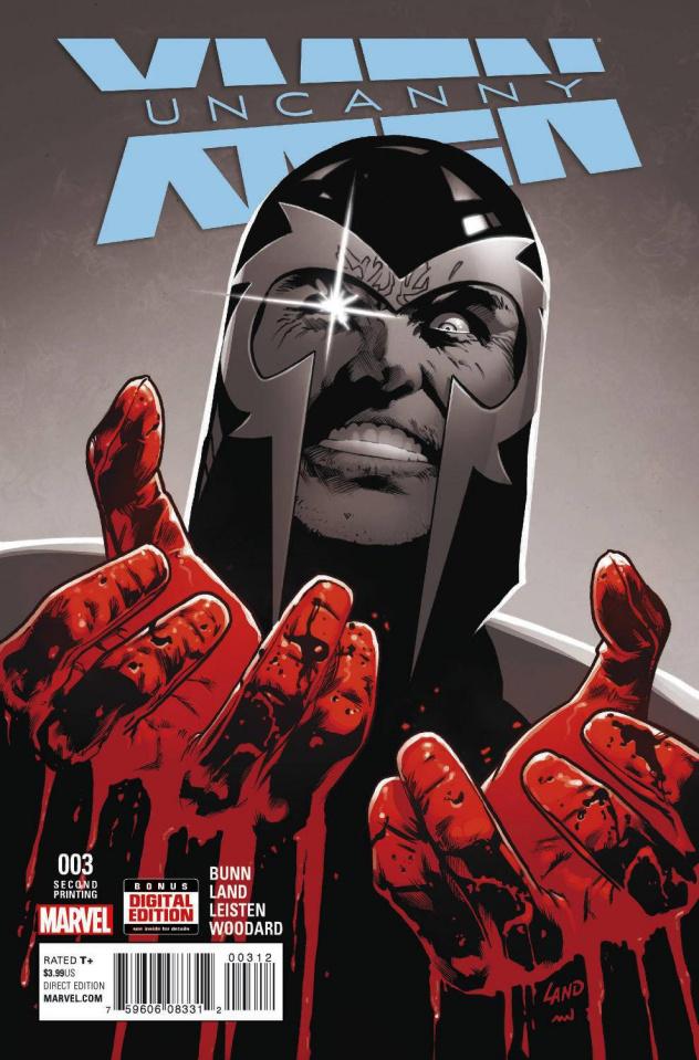 Uncanny X-Men #3 (Land 2nd Printing)