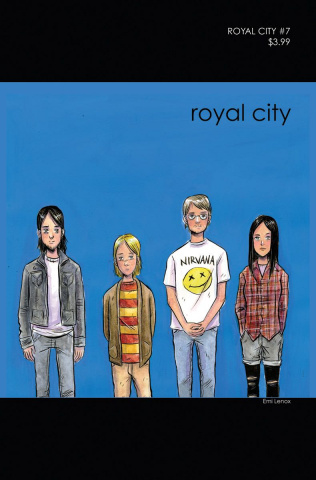 Royal City #7 ('90s Album Homage Cover)