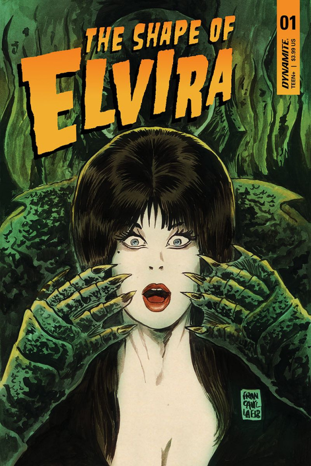 The Shape of Elvira #1 (Francavilla Cover)