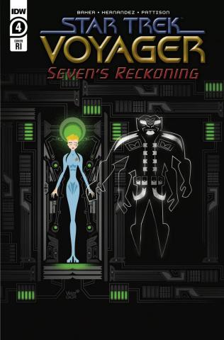 Star Trek: Voyager - Seven's Reckoning #4 (10 Copy Veregge Cover)