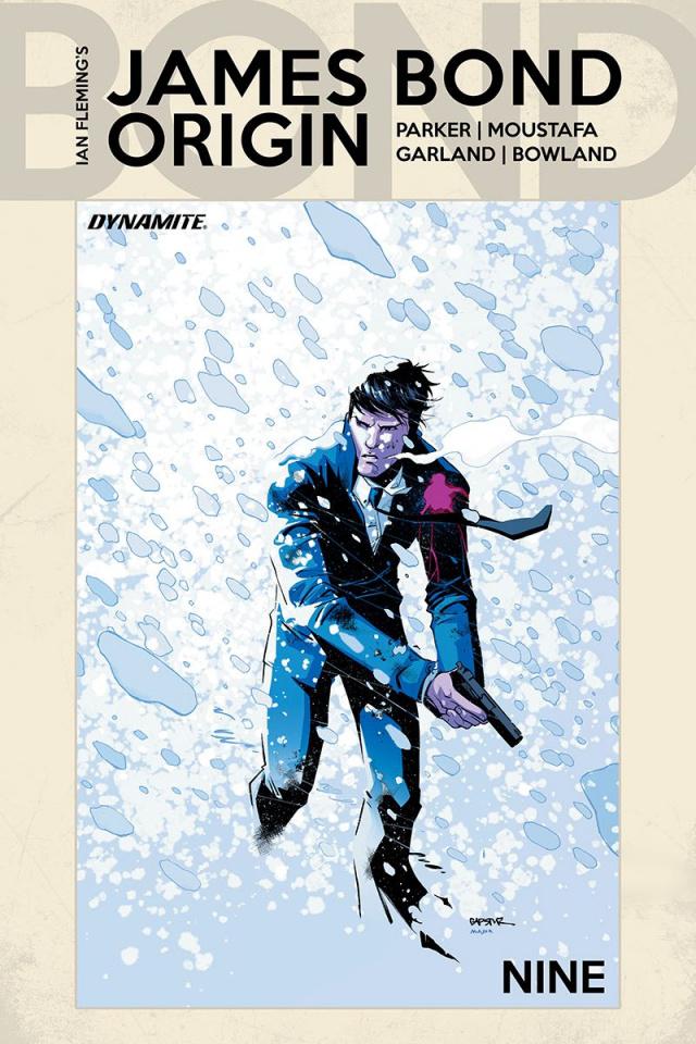 James Bond: Origin #9 (Gapstur Cover)