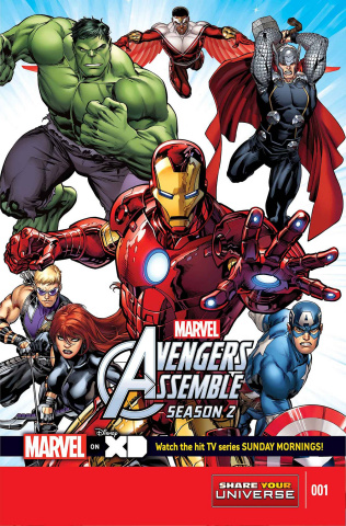 Marvel Universe: Avengers Assemble, Season Two #1