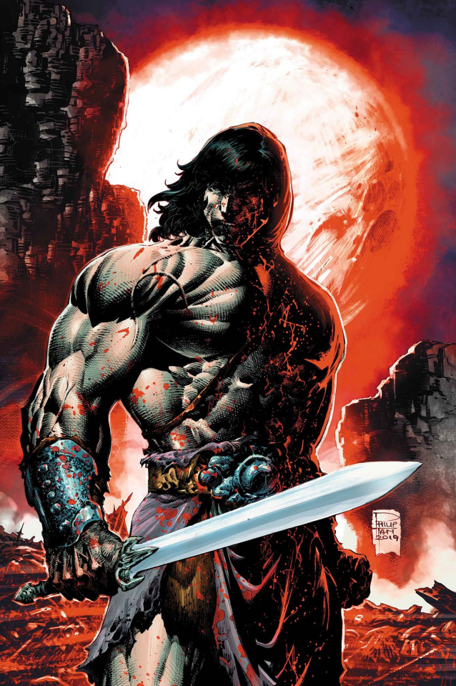The Savage Sword of Conan #7 (Philip Tan Cover)