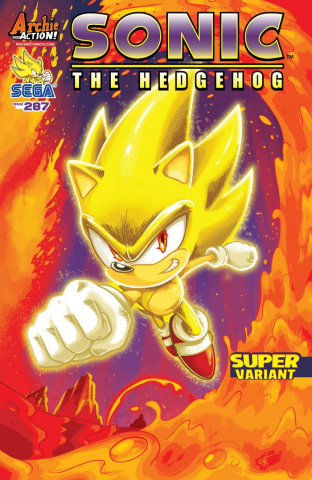Sonic the Hedgehog #287 (Lovallo Cover)