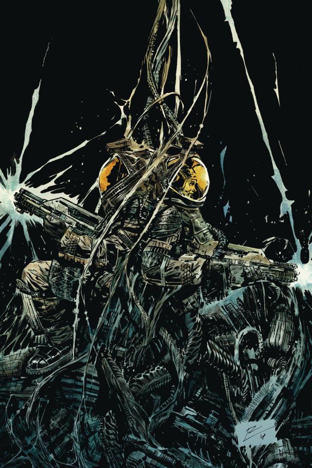 Aliens: Resistance #2 (La Torre Cover)