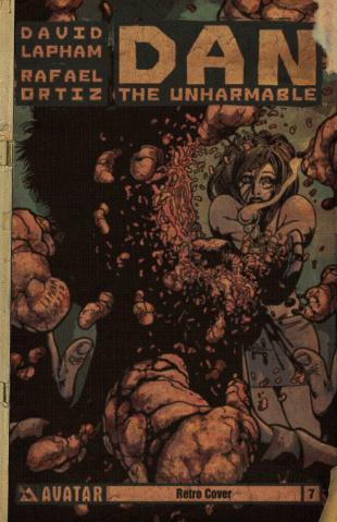 Dan the Unharmable #7 (Retro Cover)