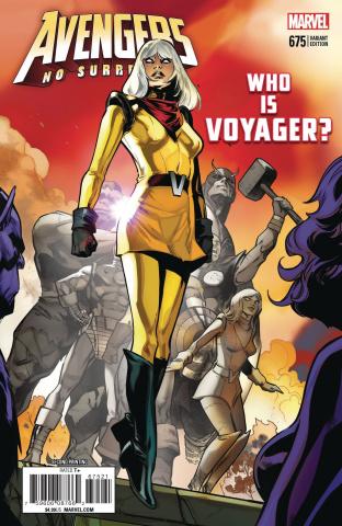 Avengers #675 (2nd Printing)
