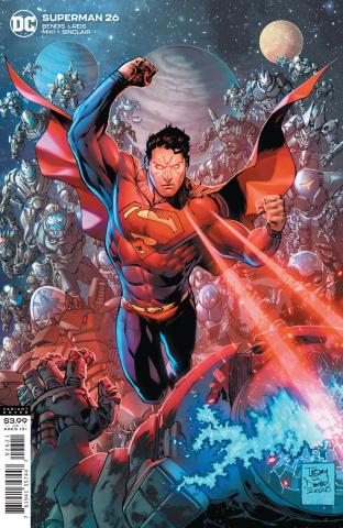 Superman #26 (Tony S Daniel Cover)