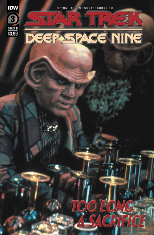 Star Trek: Deep Space Nine - Too Long A Sacrifice #3 (Photo Cover)