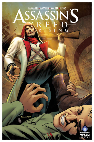 Assassin's Creed: Uprising #8 (Sanapo Cover)