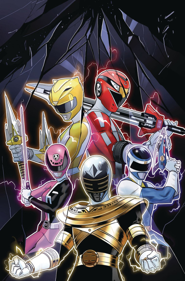 Mighty Morphin' Power Rangers 2018 Annual #1