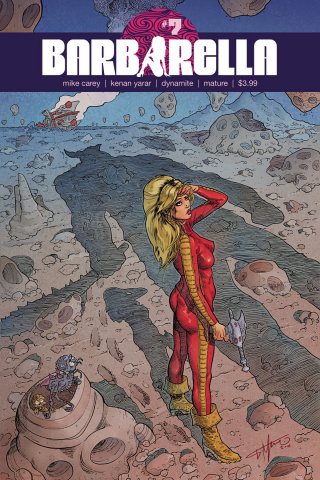Barbarella #7 (Timpano Cover)