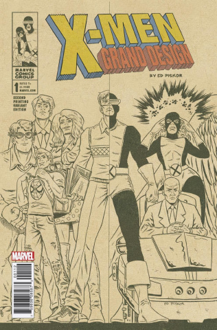 X-Men: Grand Design #1 (2nd Printing)