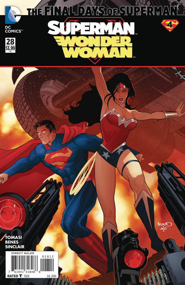 Superman / Wonder Woman #28 (2nd Printing)