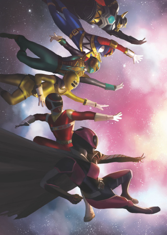 Mighty Morphin' Power Rangers #38 (Mercado Cover)