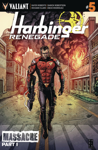 Harbinger: Renegade #5 (2nd Printing)