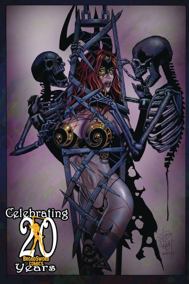 Tarot: Witch of the Black Rose #121 (20th Anniversary Cover)