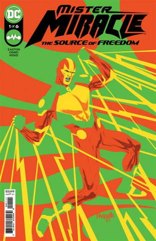 Mister Miracle: The Source of Freedom #1 (Yanick Paquette Cover)