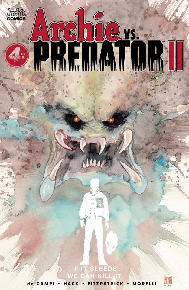 Archie vs. Predator II #4 (Mack Cover)