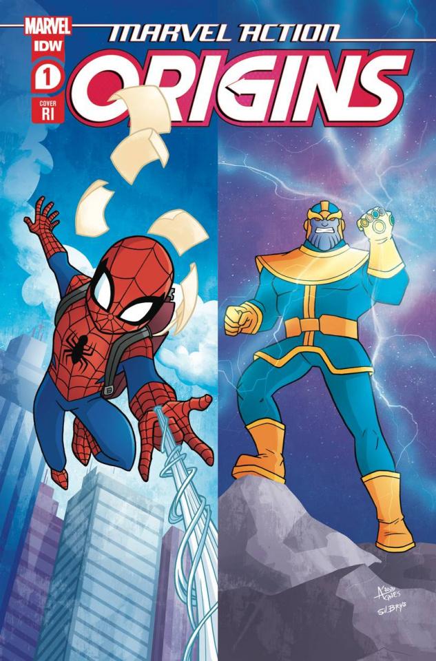 Marvel Action: Origins #1 (10 Copy Garbowska Cover)