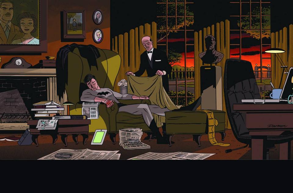 Detective Comics #37 (Darwyn Cooke Cover)