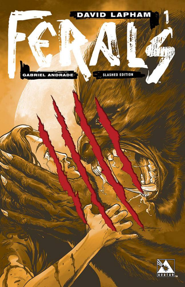 Ferals #1 (Slashed Cover)