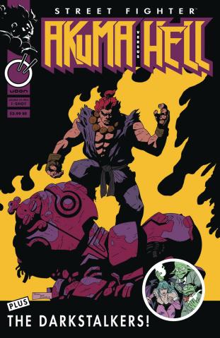 Street Fighter: Akuma vs. Hell #1 (10 Copy Perez Cover)