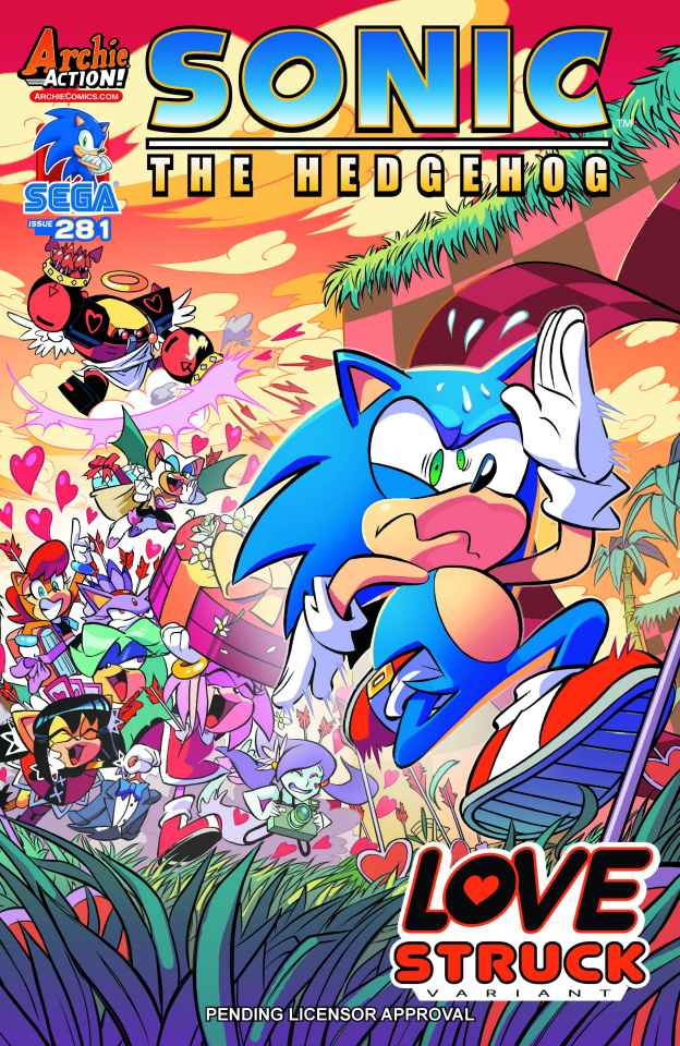 Sonic the Hedgehog #281 (Diana Skelly Cover)