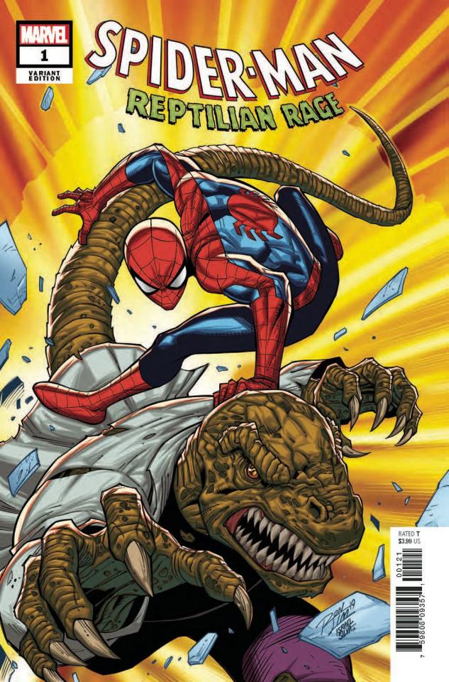 Spider-Man: Reptilian Rage #1 (Lim Cover)