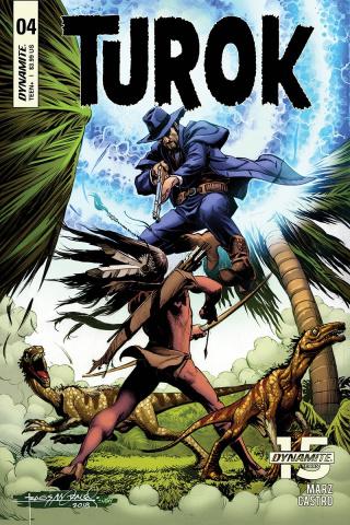 Turok #4 (Morales Cover)