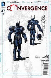 Convergence #1 (Batman Sketch Cover)