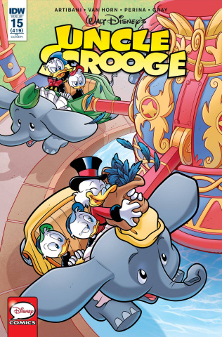 Uncle Scrooge #15 (10 Copy Cover)
