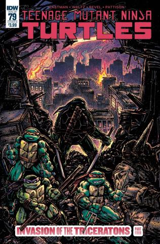 Teenage Mutant Ninja Turtles #79 (Eastman Cover)