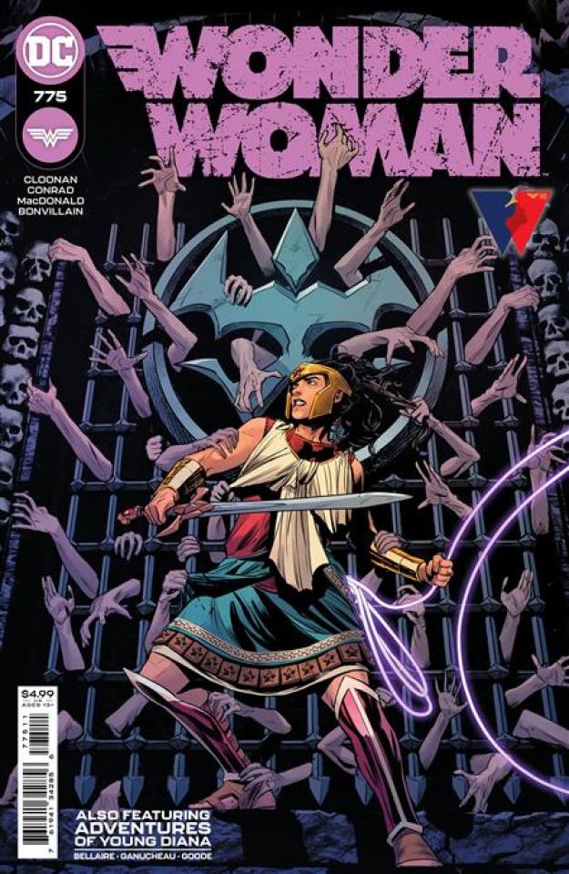 Wonder Woman #775 (Travis Moore Cover)