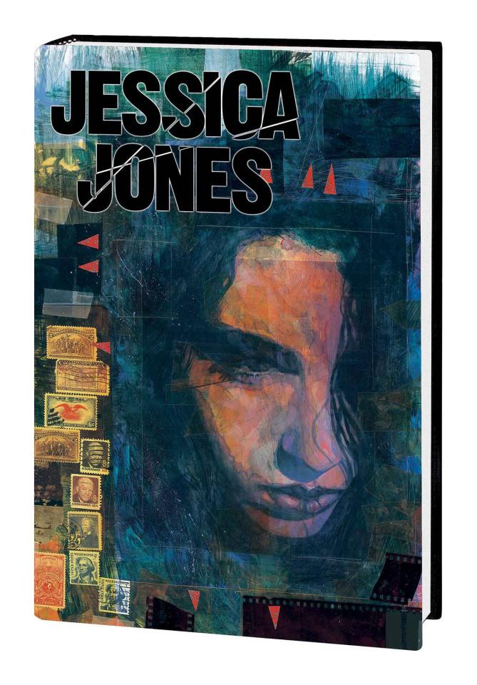 Jessica Jones: Alias (Omnibus First Issue Cover)