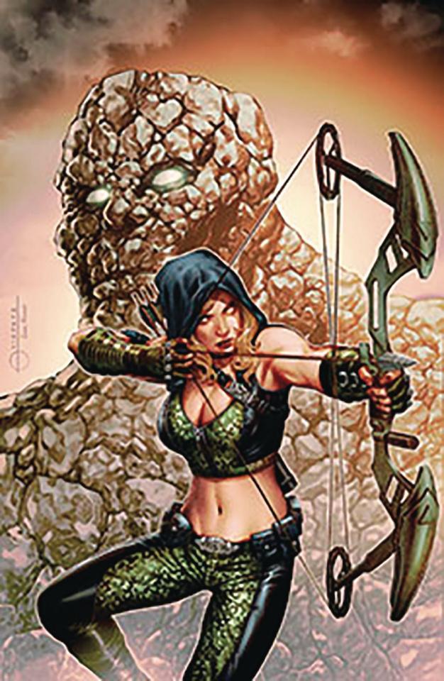 Robyn Hood: Vigilante #5 (Vigonte Cover)