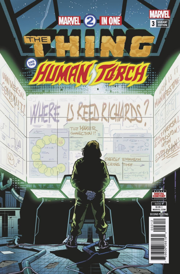 Marvel Two-In-One #3 (Schiti 2nd Printing)