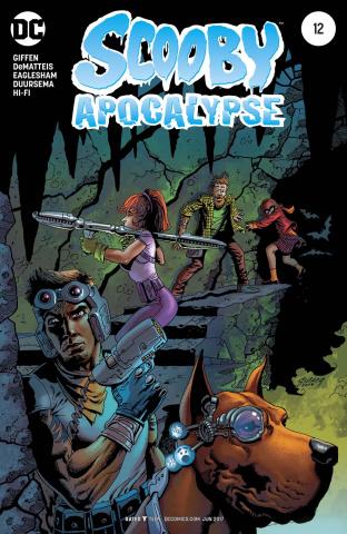 Scooby: Apocalypse #12 (Variant Cover)