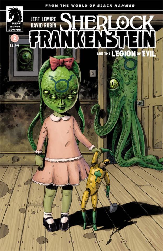 Sherlock Frankenstein and the Legion of Evil #2 (Variant Cover)