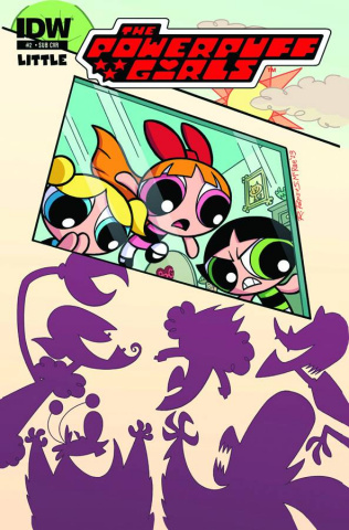 The Powerpuff Girls #2 (Subscription Cover)
