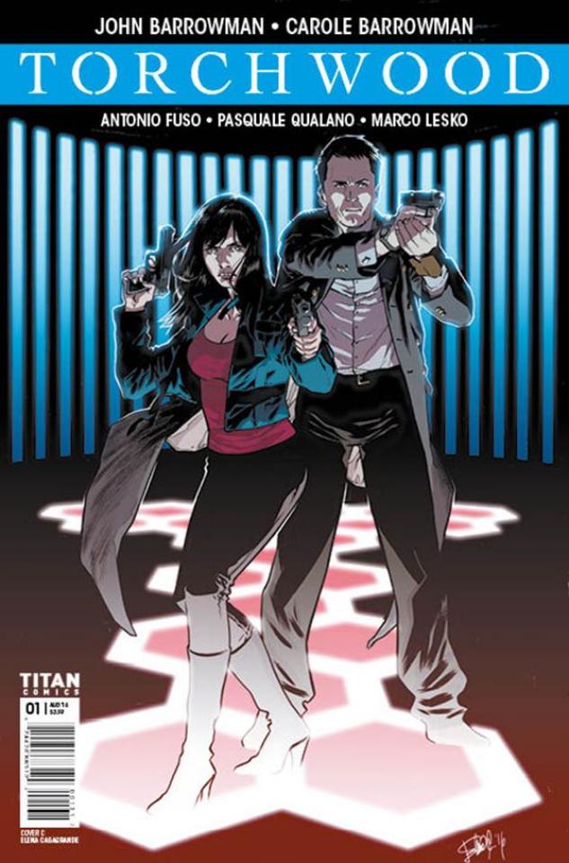 Torchwood #1 (Casagrande Cover)