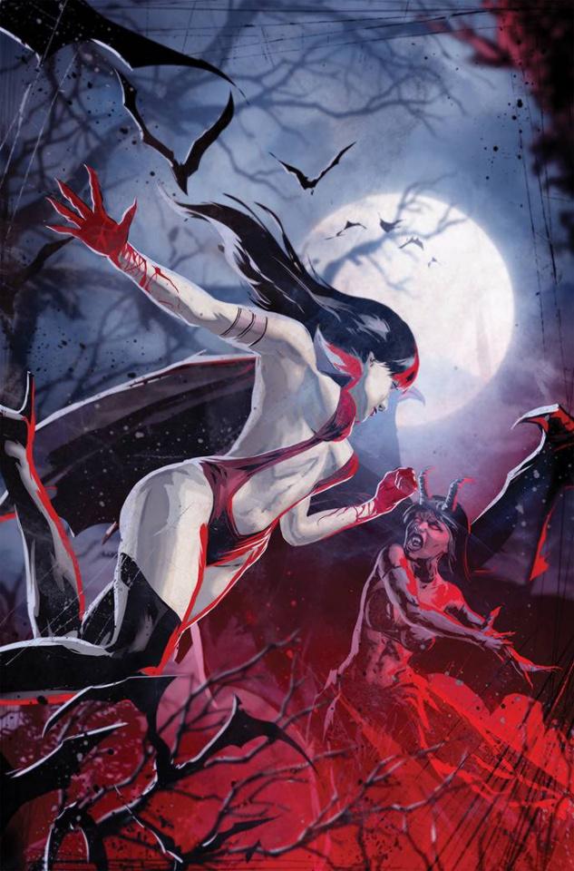Vampirella vs. Purgatori #2 (7 Copy Kudranski Virgin Cover)