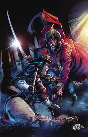 Van Helsing: The Sword of Heaven #5 (Lilly Cover)