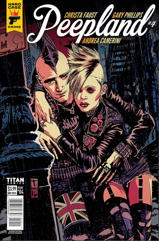 Hard Case Crime: Peepland #4 (Coker Cover)
