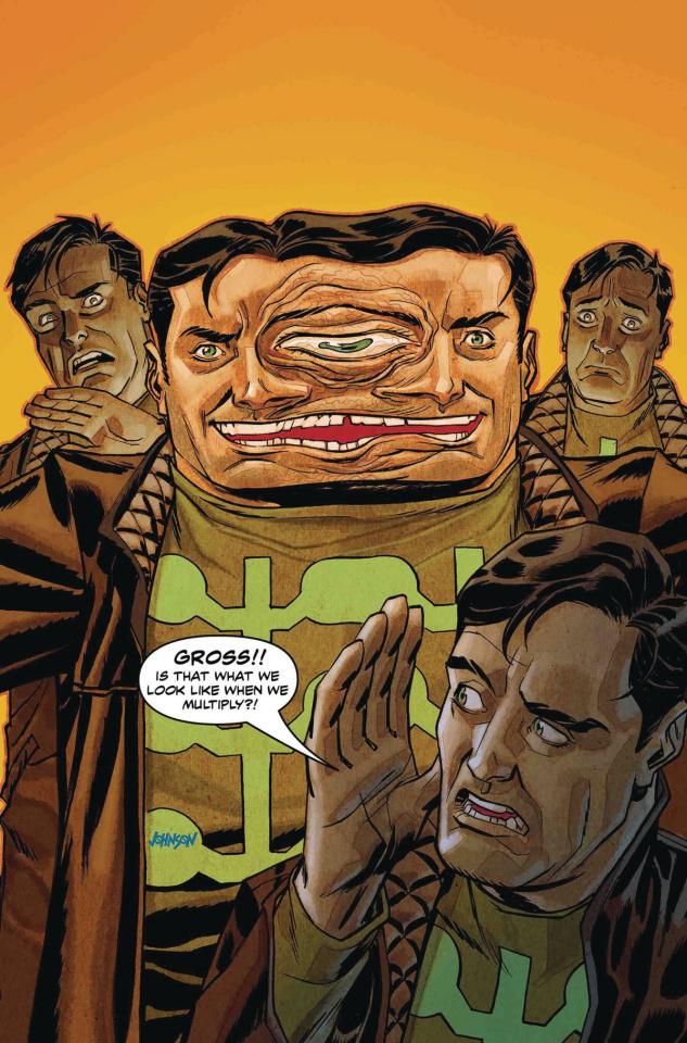 Multiple Man #1 (Johnson Cover)