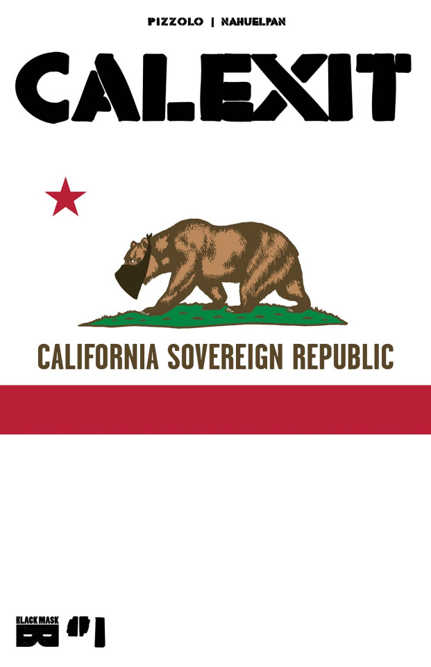 Calexit #1 (Cover B)