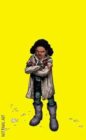 Generation Zero #1 (10 Copy Character Design Guinaldo Cover)