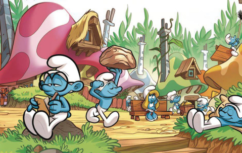 We Are the Smurfs: Welcome to Our Village